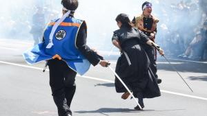 【フォトレポ】砲煙を白刃で切り裂く激闘、第50回記念箱館五稜郭祭2日目
