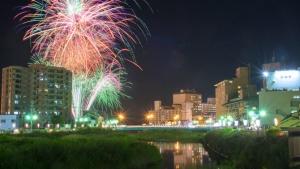 【2019/8/17】第54回湯の川温泉花火大会 ※18日に延期